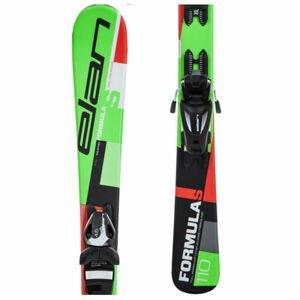 Elan FORMULA S QS + EL 4.5  110 - Dětské sjezdové lyže