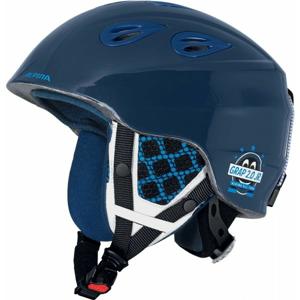 Alpina Sports GRAP 2.0 JR modrá (51 - 54) - Dětská lyžařská helma