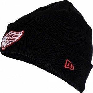 New Era SMU NHL CUFF KNIT DETRED černá UNI - Klubová zimní čepice